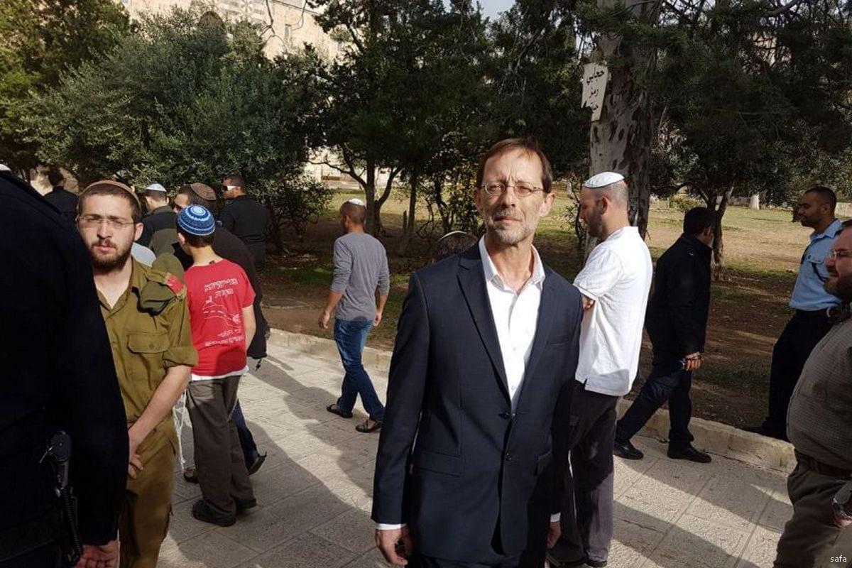 Image of Former Deputy Knesset Speaker Moshe Feiglin [safa]