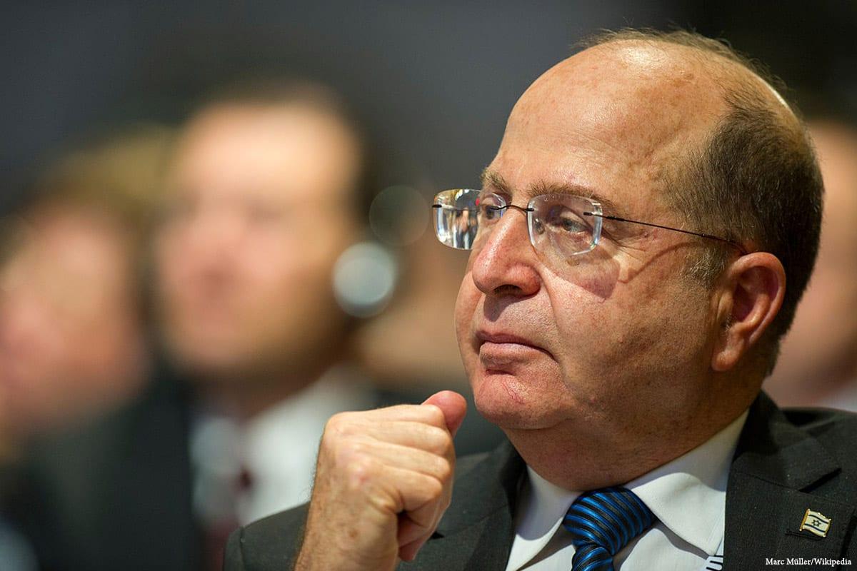Image of former Defence Minister Moshe Yaalon [Marc Müller/Wikipedia]