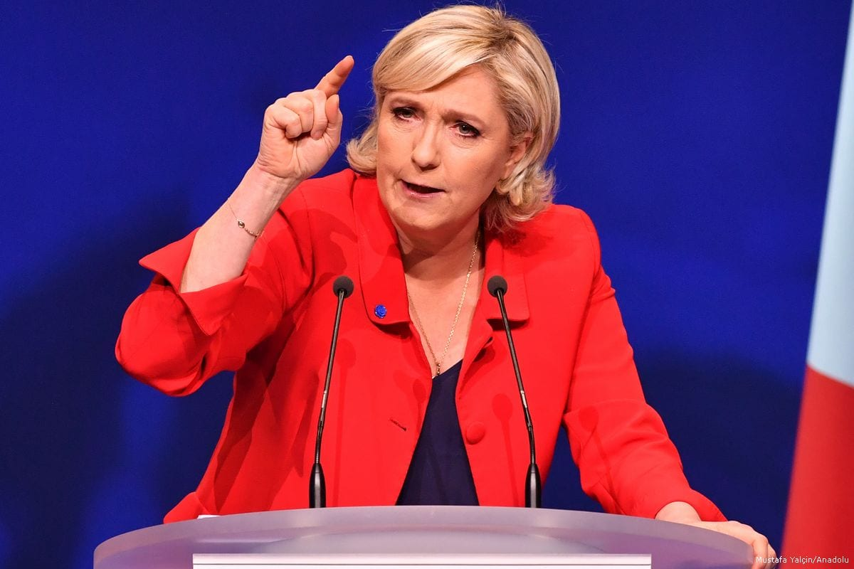 le pen french colonialism was good for algeria middle east monitor. Black Bedroom Furniture Sets. Home Design Ideas