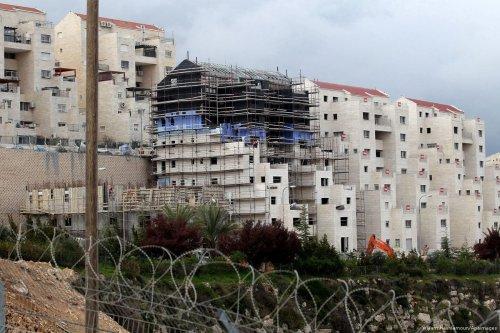 Image of settlement construction work in West Bank on 2 April 2017 [Wisam Hashlamoun/Apaimages]