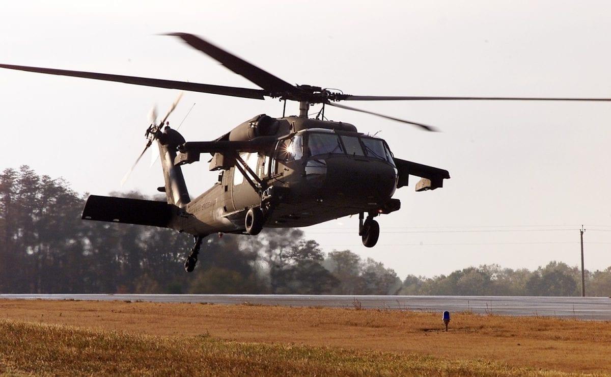 Black Hawk helicopter [Wikipedia/Sikorsky]