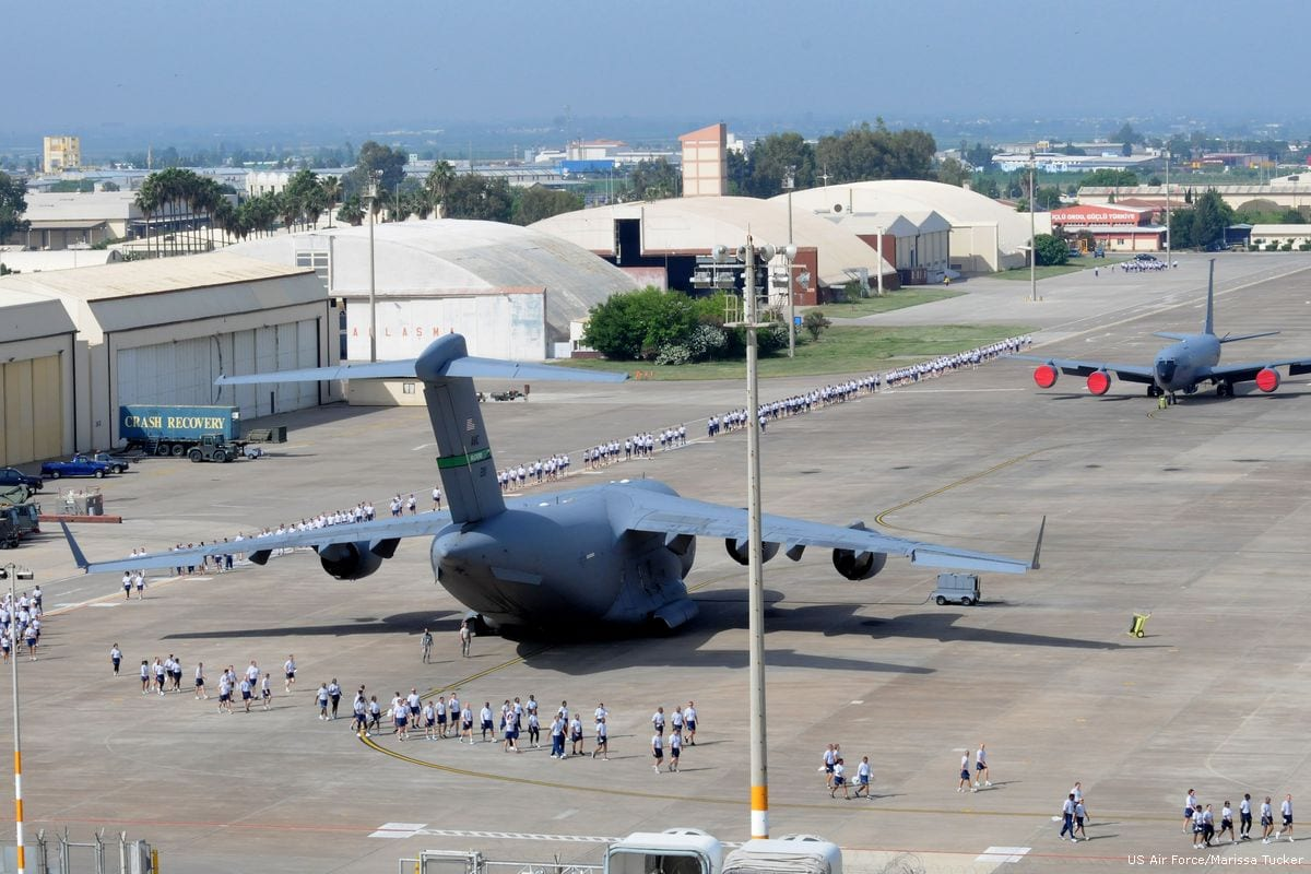 Image of the Incirlik Air Base in Turkey on 29th May 2012 [U.S. Air Force/Marissa Tucker/]