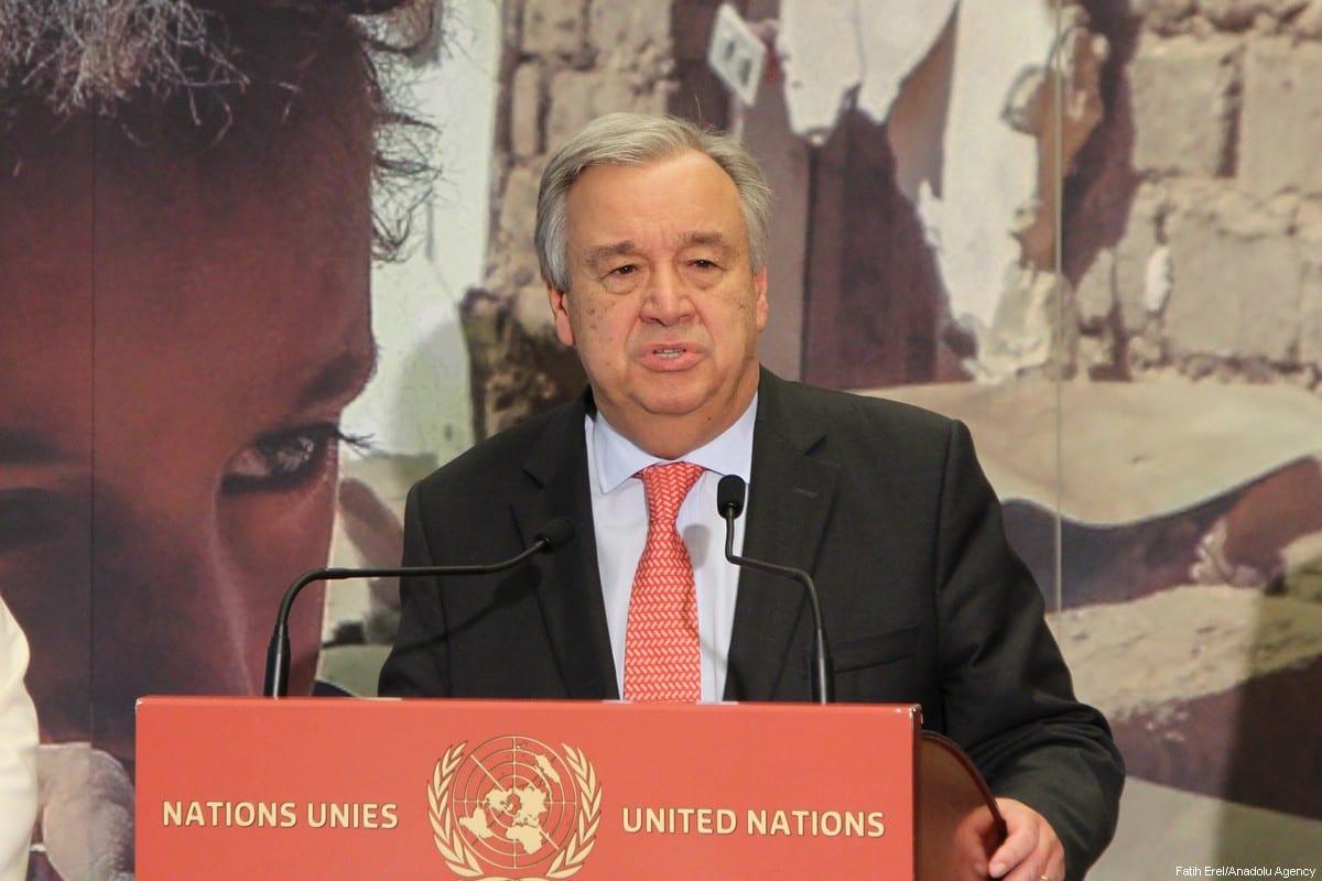 Secretary-General of the United Nations Antonio Guterres [Fatih Erel /Anadolu Agency]