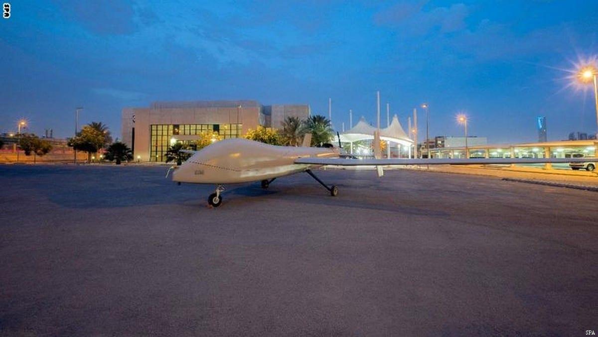 Saudi drone Saqr 1 [SPA]