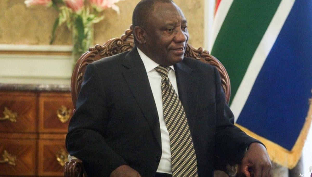 Cyril Ramaphosa, Vice-president of South Africa on 14 May, 2017 [Rassd.net]