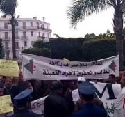 Thousands of Algerian veterans march for recognition