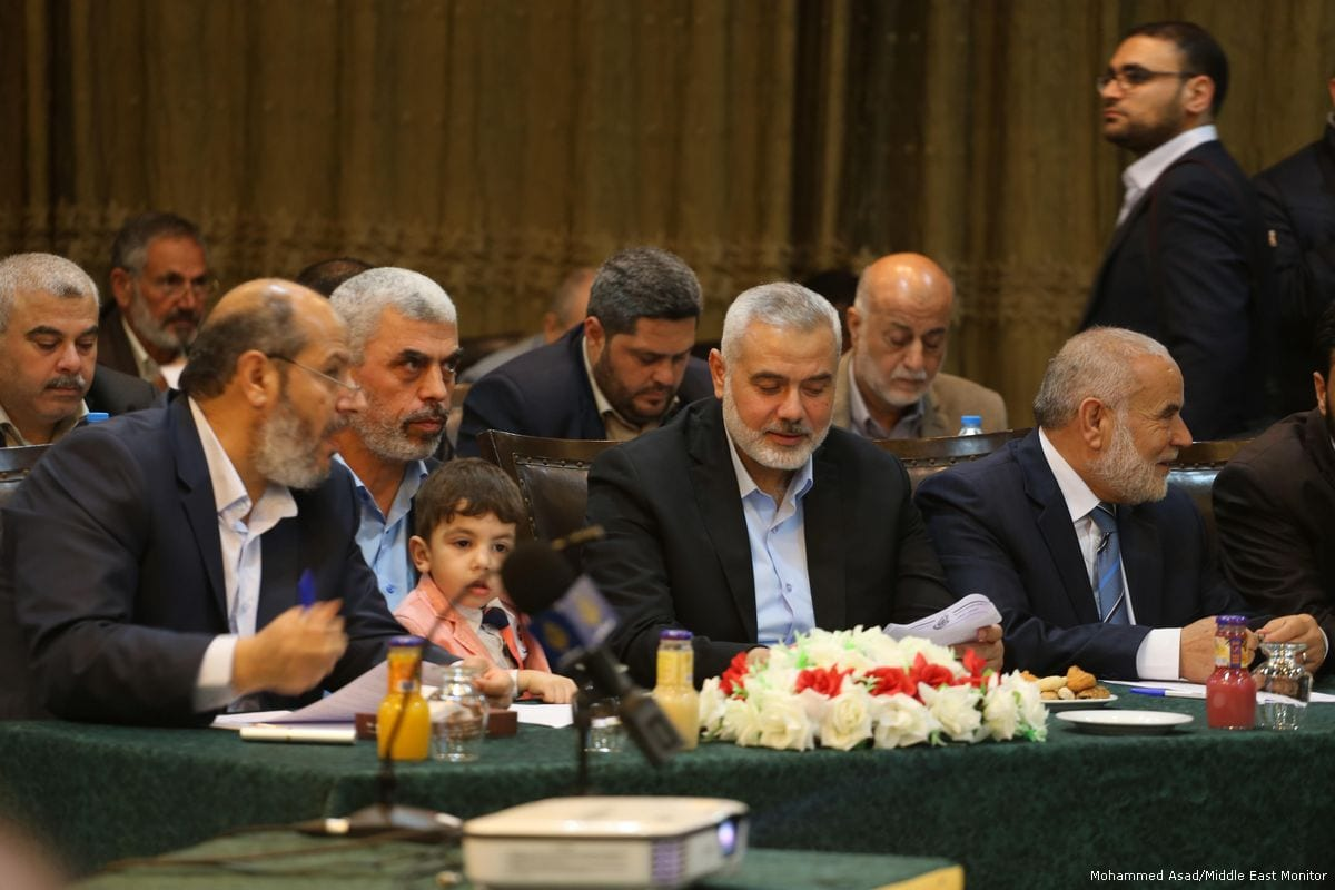 Ex-Gaza chief Haniya elected leader of Hamas