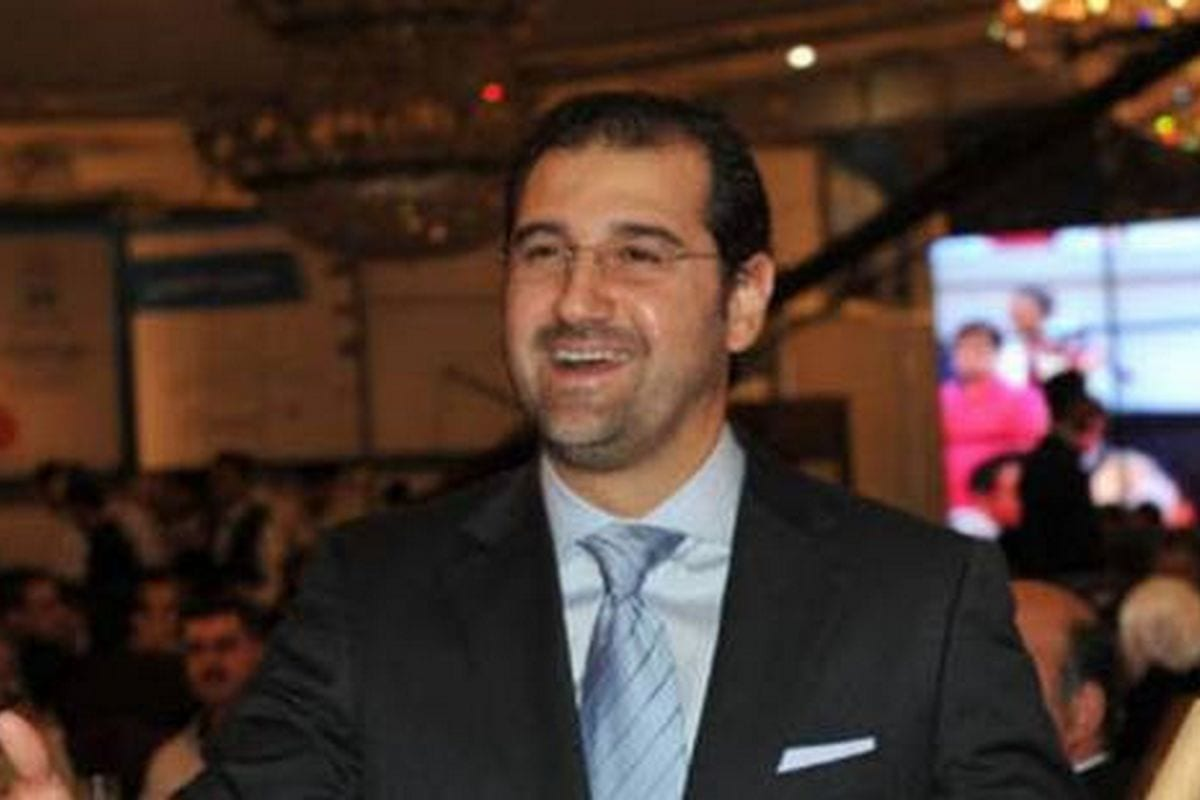Image of Rami Makhlouf, a wealthy businessman and the cousin of Syrian President Bashar Al-Assad
