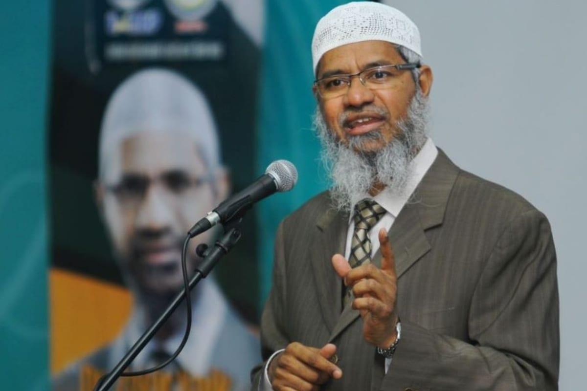 Image of Islamic preacher, Dr Zakir Naik [UpdatesMalaysia/Twitter]