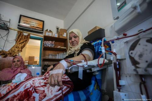 Treatment referrals for Gaza patients down by 75%