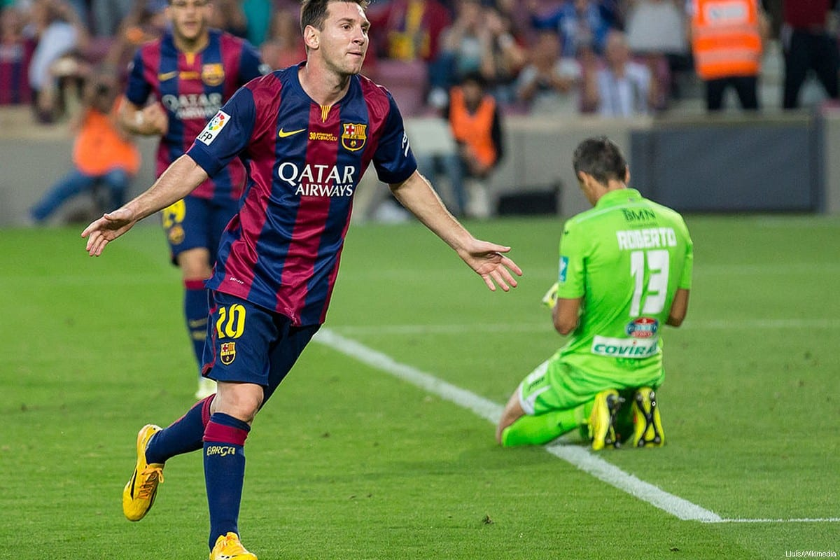 Argentinian footballer, Leo Messi [Lluís/Wikimedia]