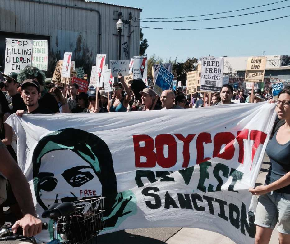 Image of a BDS march on 16 August 2014 [Alex Chis/Flickr]