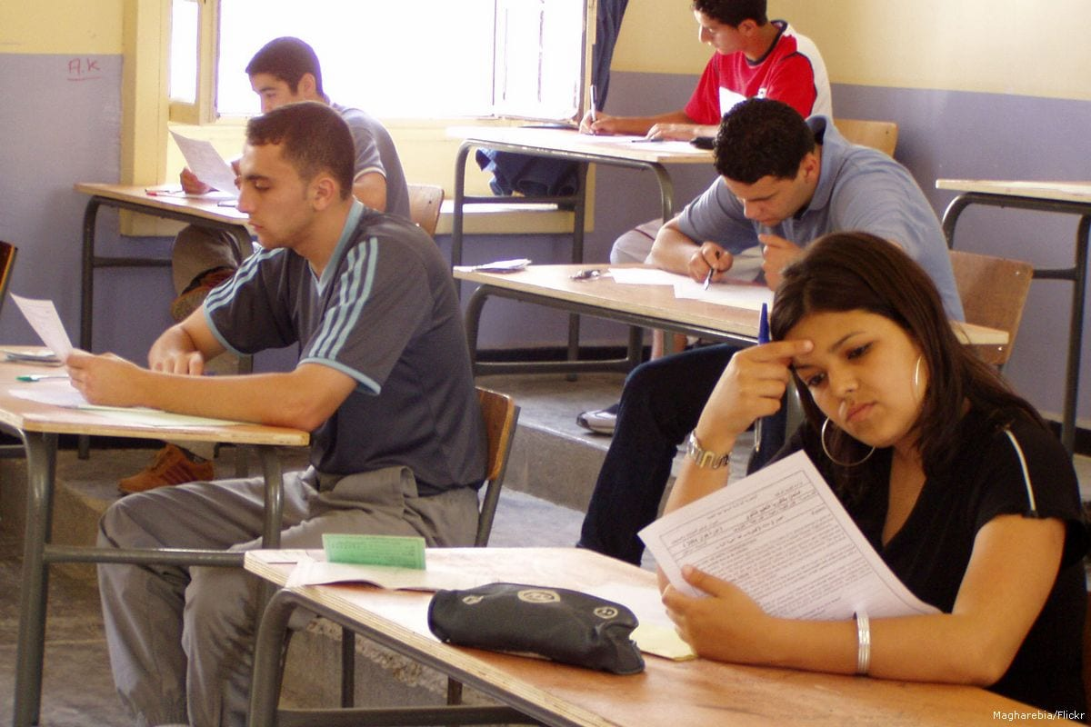 Image of Algerian students taking their exams on 31 May 2011 [Magharebia/Flickr]