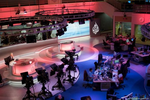 Image of Al-Jazeera newsroom [Mohamed Nanabhay/Flickr]