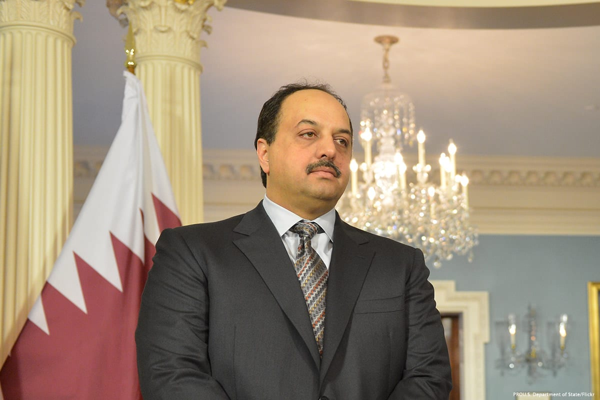 Image of Khaled Al-Attiyah, Qatari Image of Khaled Al-Attiyah, Qatari Minister of State for Defence [US Department of State/Flickr]