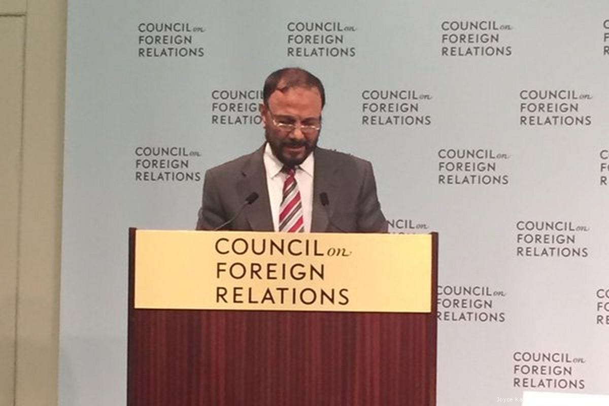 Director of the Middle East Centre for Strategic and Legal Studies, Anwar Eshki [Joyce KaramVerified account/Twitter]