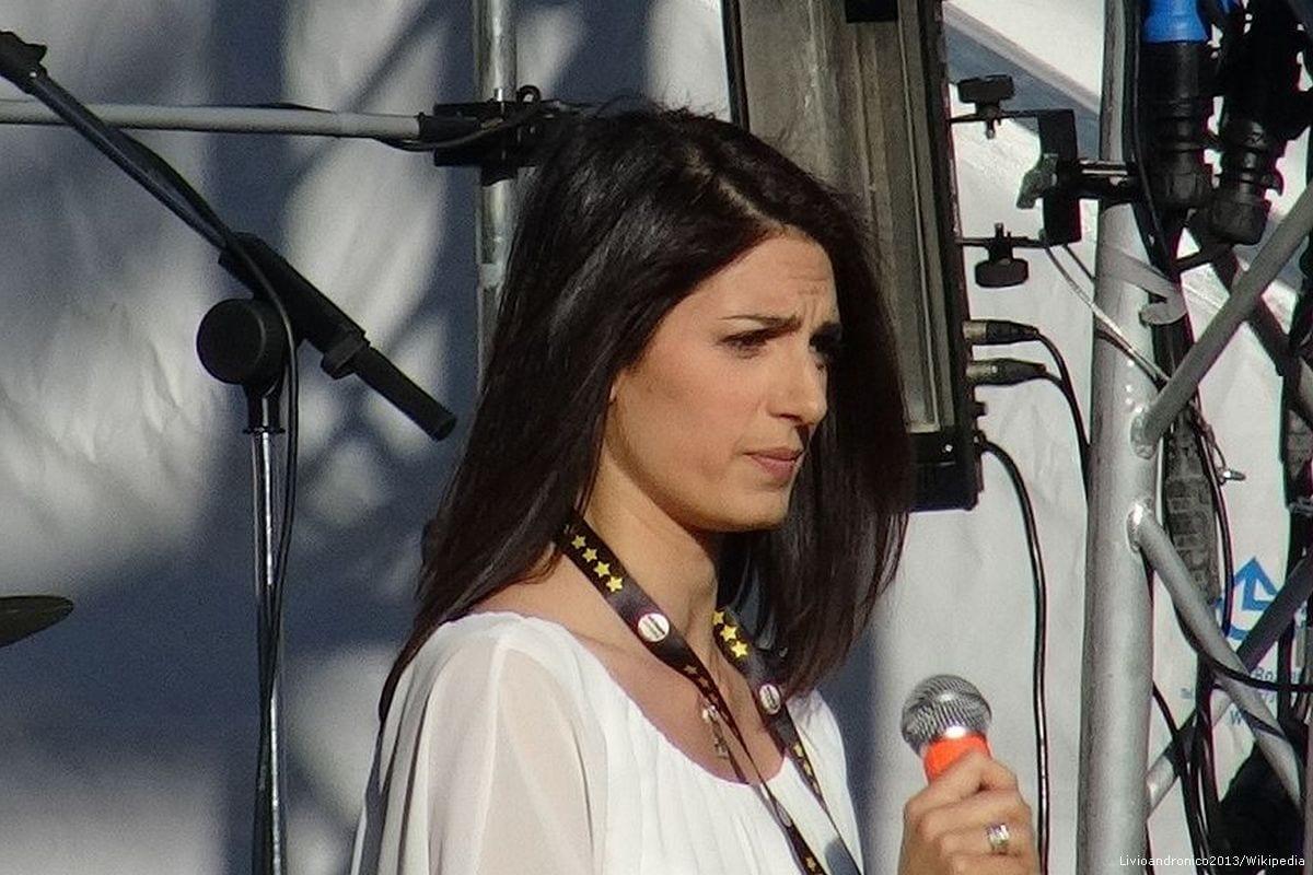 Image of Virginia Raggi, Mayor of Rome [Livioandronico2013/Wikipedia]