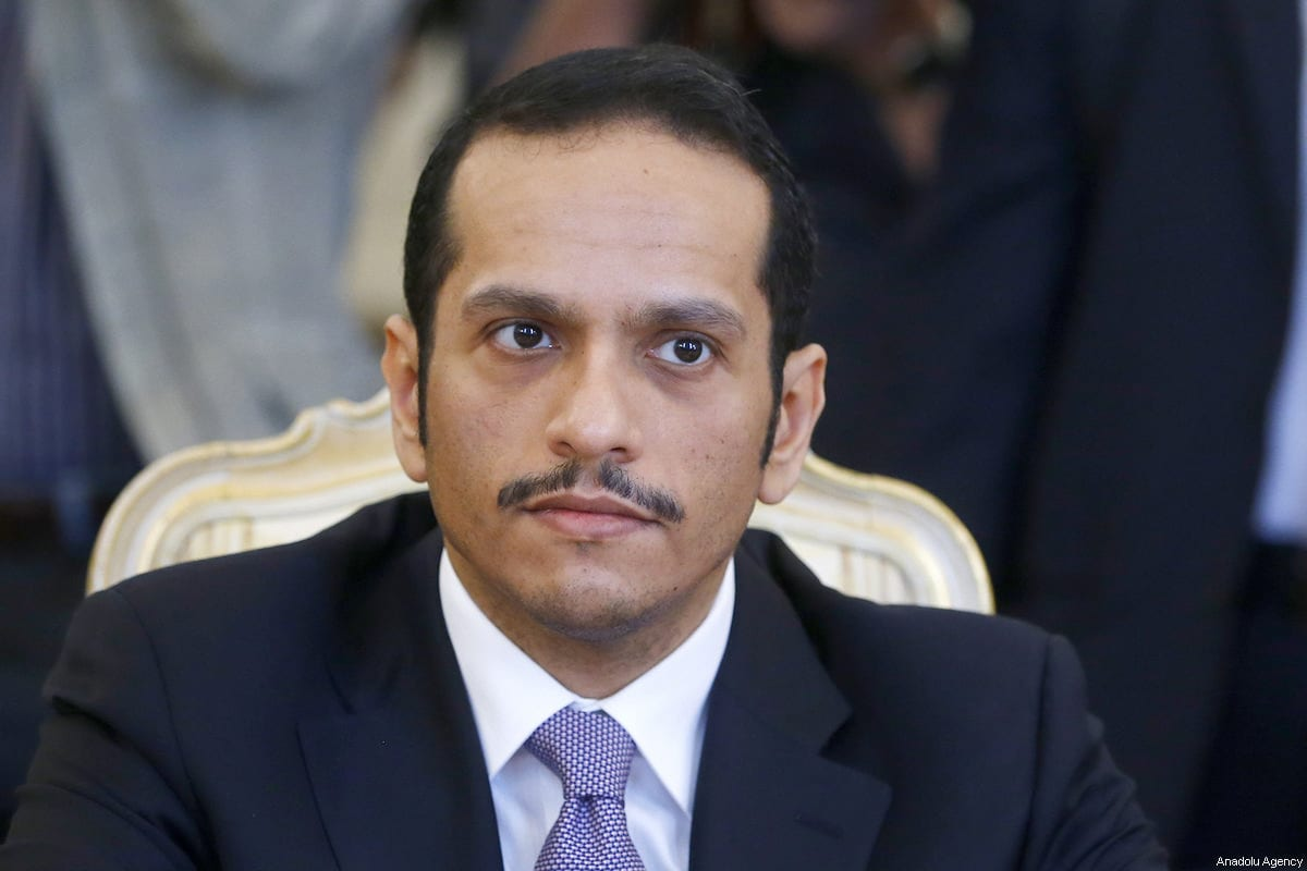 Qatar foreign minister denounces 'unfair', 'illegal' sanctions