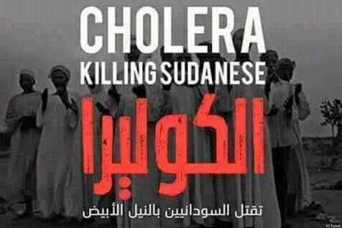 Cholera is killing in Sudan [Twitter]