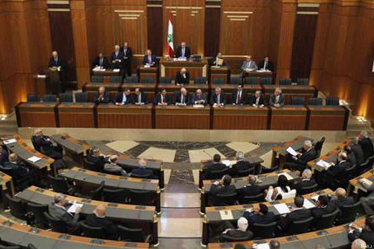 Parliament in Lebanon [Reuters]