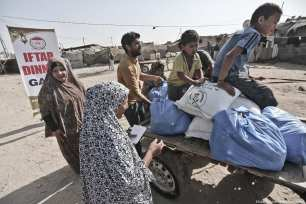 Reduction in donations to the Gaza Strip during Ramadan 2017 on 14 June, 2017 [Mohammed Asad/Middle East Monitor]
