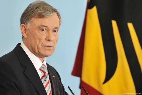 Image of former German President, Horst Kohler [Perspectives Med /Twitter]