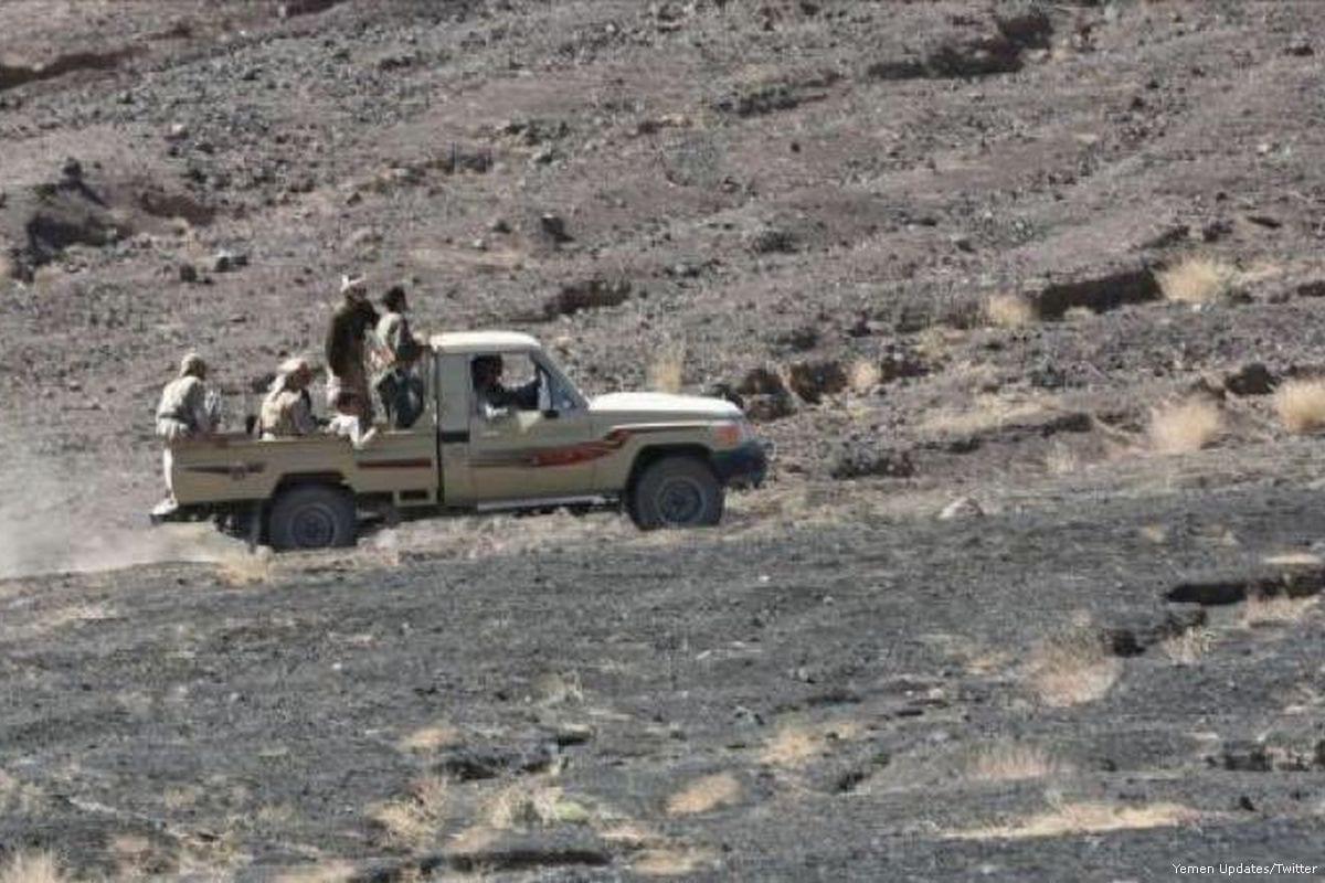 Image of Houthi rebels on 27 June 2017 [Denis Denisov/Twitter]