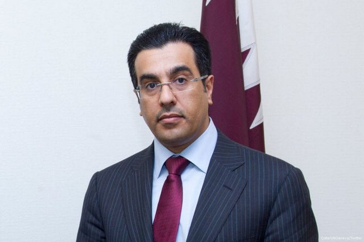 Qatar's National Human Rights Commission, Ali Bin Smaikh Al-Marri [QatarUNGeneva/Twitter]