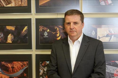 Giles Trendle, acting managing director of Doha-based Al Jazeera's English-language news channel