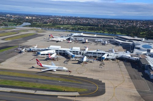 Parked planes seen at Sydney Airport on June 5, 2012 [Simon_sees / Flickr]