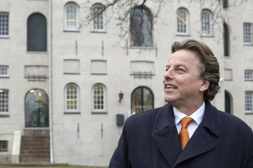 Dutch Foreign Minister Bert Koenders seen during a visit to the visitor's centre in Amsterdam on January 4, 2016 [EU2016 NL / Flickr]