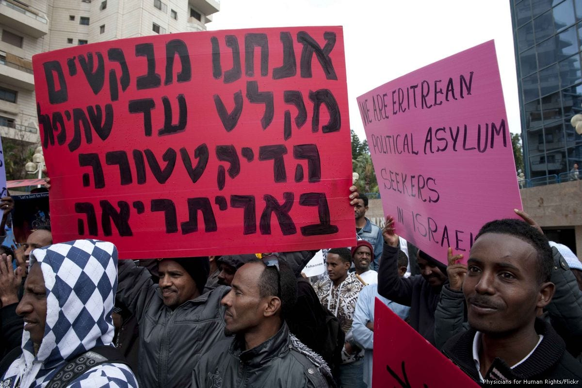 Eritrean migrants protest for their rights in Tel Aviv, Israel on 11 July 2011 [Physicians for Human Rights/Flickr]