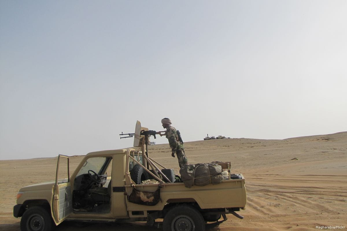 Image of Mauritanian forces [Magharebia/Flickr]