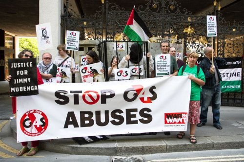 Image of a protest against G4S [Aimee Valinski/Flickr]