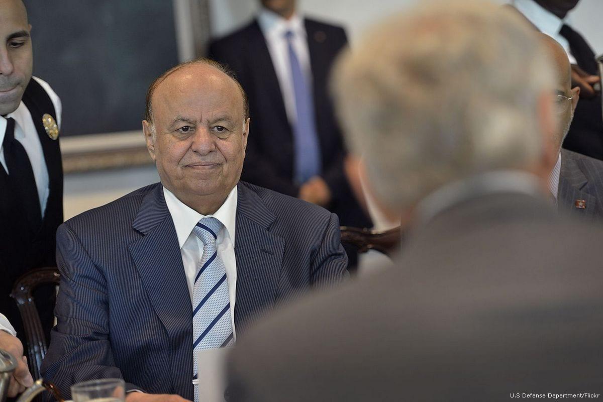 Image of Abd Rabbuh Mansur Hadi, president of Yemen on 30 July 2013 [U.S Defense Department/Flickr]