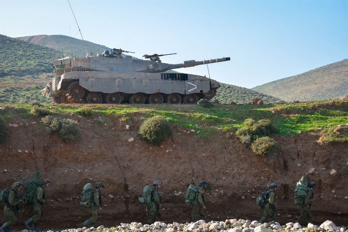 Image of Israeli forces at the border with Jordan on 19th January 2015 [Flickr]