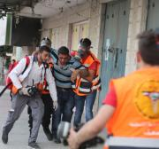 PRCS: 1,090 Palestinians injured by Israeli forces over course of 10 days
