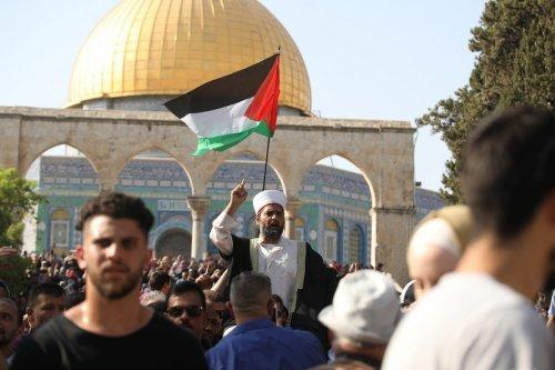 Director of Al Aqsa Mosque Sheikh Omar Al-Kiswani in Jerusalem on 27 July 2017. ( Mostafa Alkharouf - Anadolu Agency )