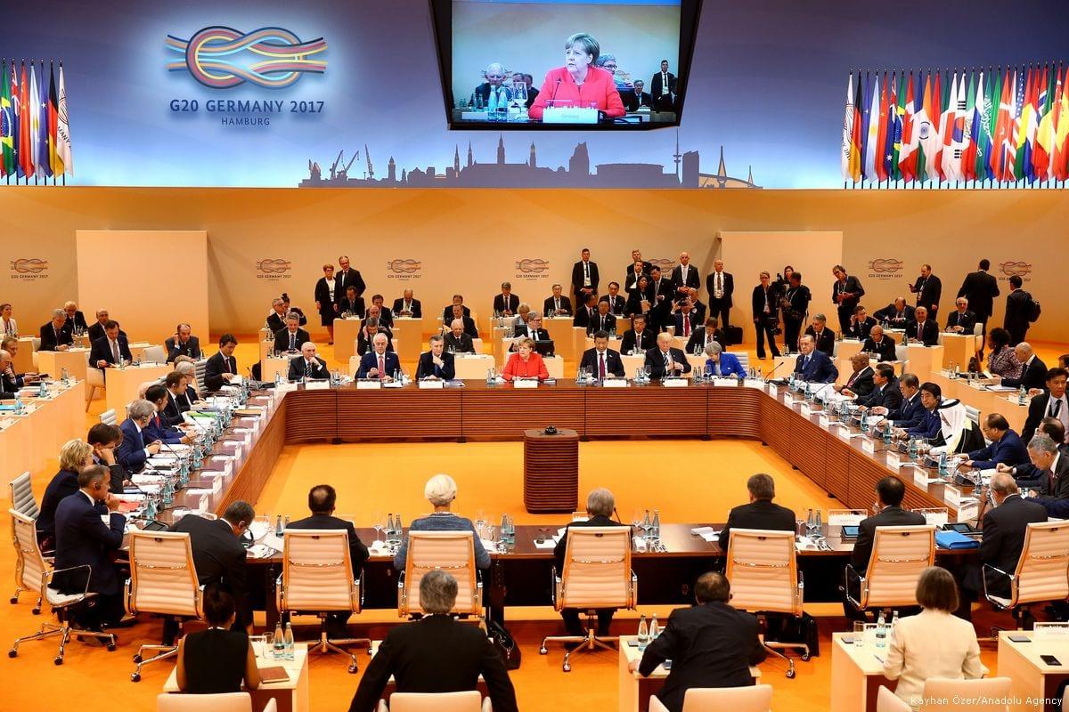 Tillvaxtlanderna pa g20s agenda