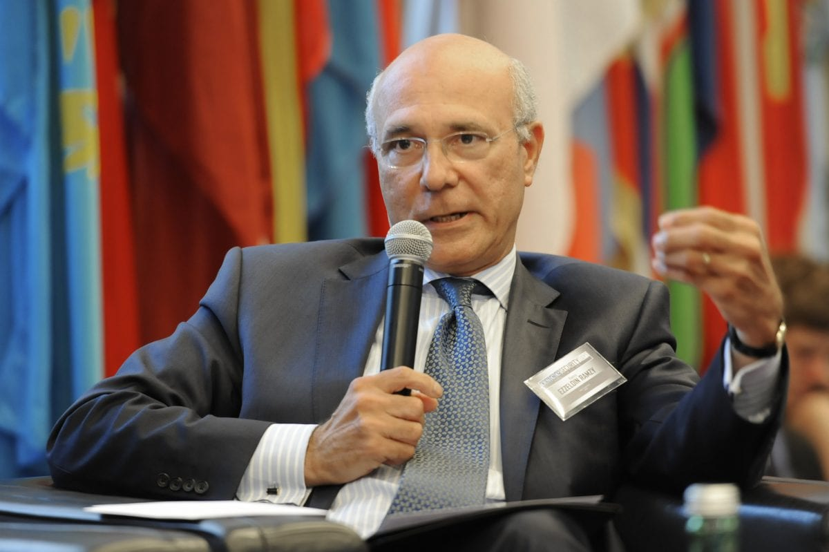Ramzy Ezzeldin Ramzy, seen at the 2013 OSCE Security Days conference in Vienna on June 17, 2013 [OSCE]