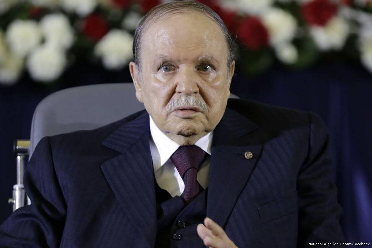 Image of Algerian President, Abdelaziz Bouteflika