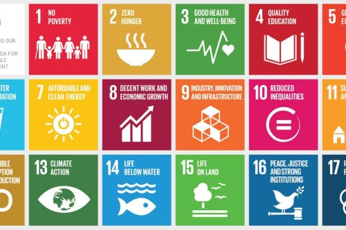 """UN Resolution: """"Transforming our world: the 2030 Agenda for Sustainable Development"""" [Wikipedia]"""