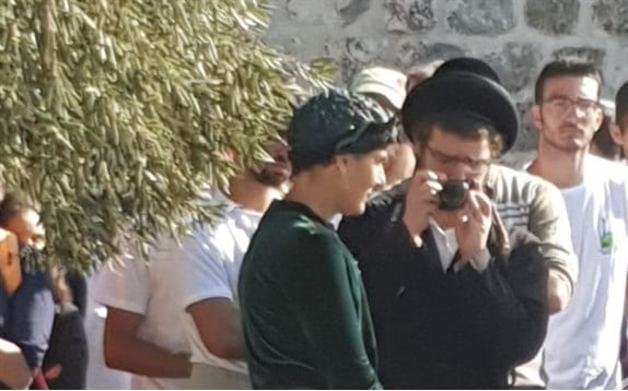 Member of the Israeli Knesset for the Jewish Home party,Shuli Mualem, storms Al-Aqsa Mosque along with more than 200 Jews