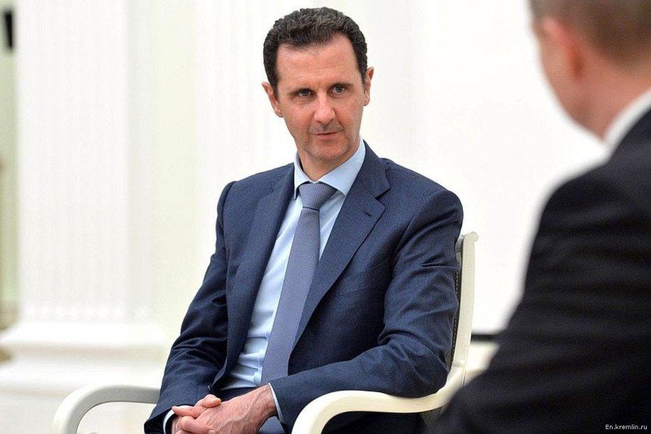 Syrian President Bashar Al-Assad [En.kremlin.ru]