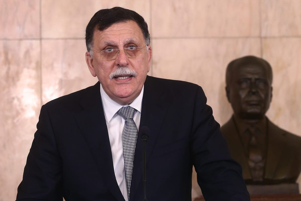 Chairman of the Presidential Council of Libya and Prime Minister of the Government of National Accord of Libya, Fayez Al-Sarraj in Tunis, Tunisia on 7 August 2017 [Yassine Gaidi/Anadolu Agency]
