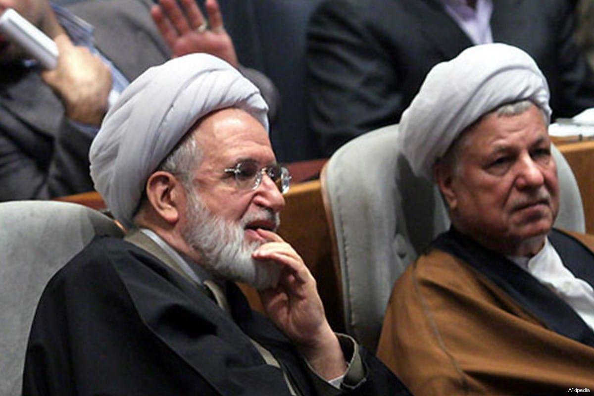 Mehdi Karroubi, detained Iranian opposition leader [Wikipedia]