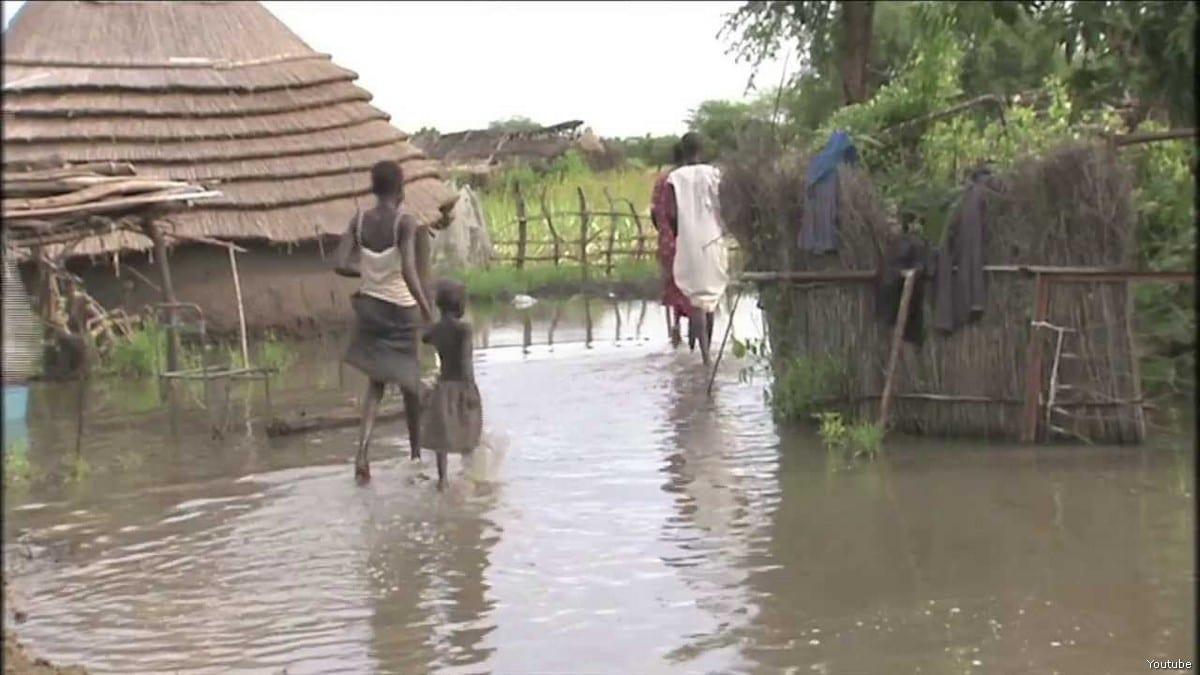 Flood in Sudan [Youtube]