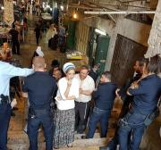 Right-wing Israelis stormed the Al-Aqsa Mosque compound