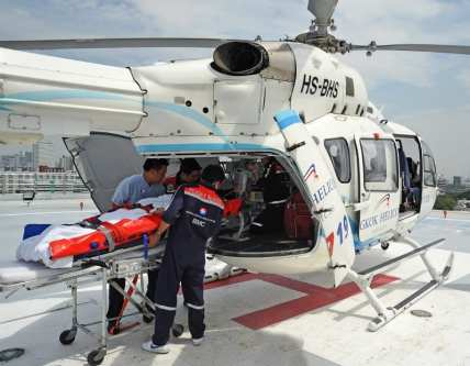 An Airbus Emergency Medical Service helicopter [Airbus]