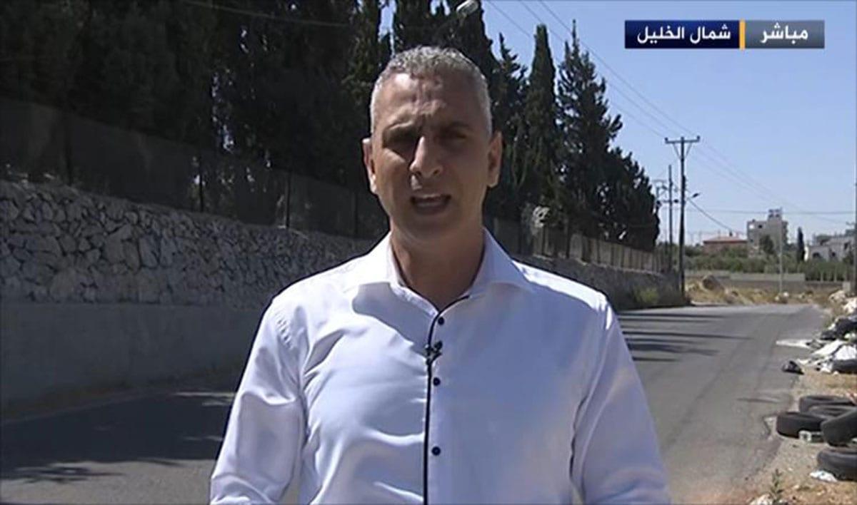 Al-Jazeera journalist, Elias Karram [Image: Al Jazeera]